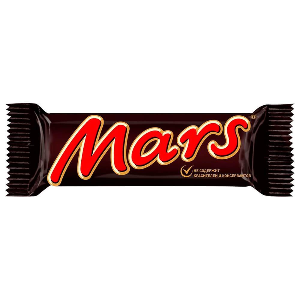 Шоколадный батончик Mars 50г Mars