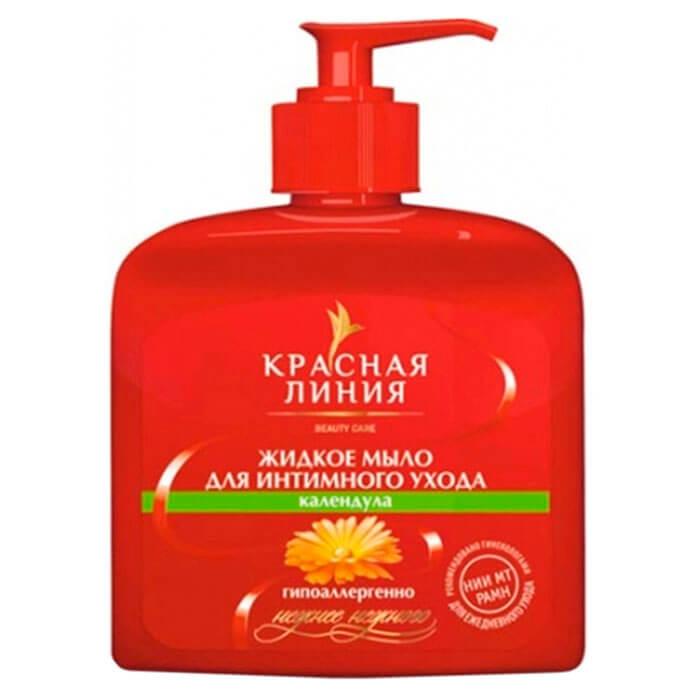 Жидкое мыло Красная линия 250мл интимное календула