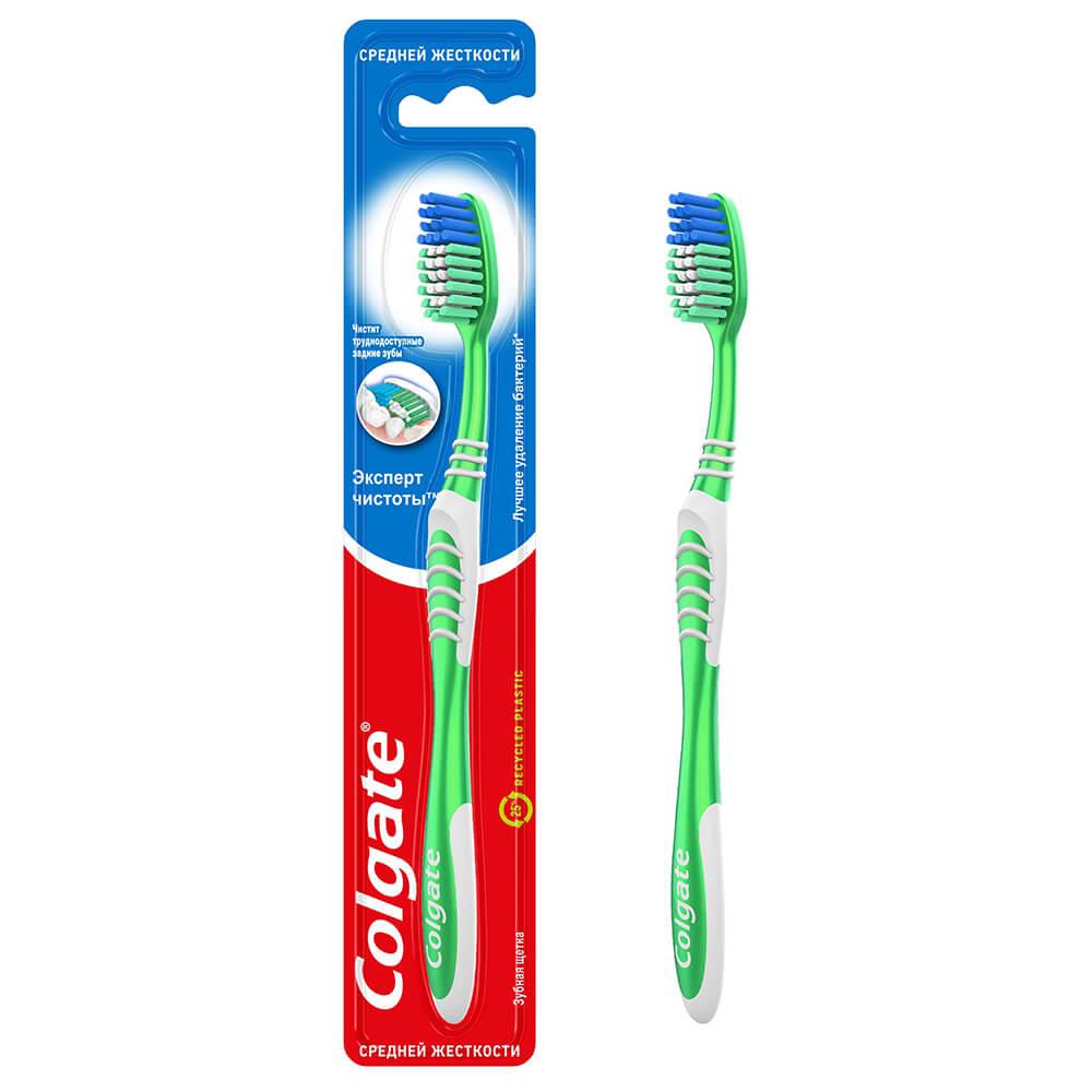 Зубная щетка Colgate экстра клеан средняя