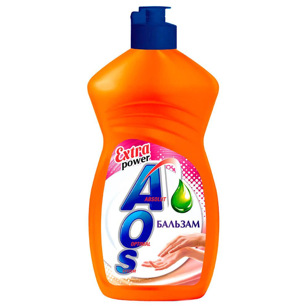 Фото - Средство для мытья посуды AOS 450г бальзам средство для мытья посуды ecosoda 1л бальзам быстросмываемый