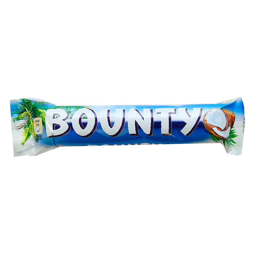 Шоколадный батончик Bounty 55г Mars
