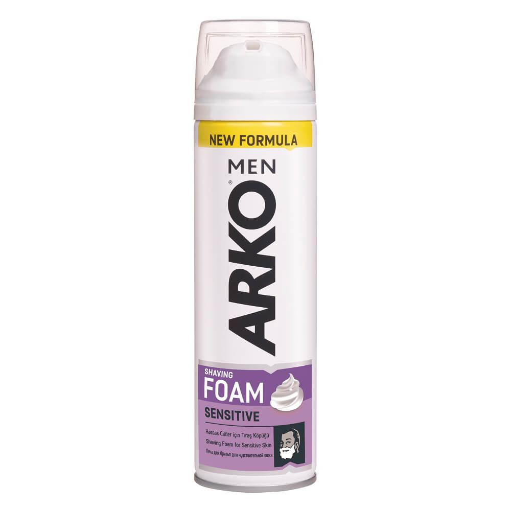 Пена для бритья ARKO 200мл сенситив витамин е