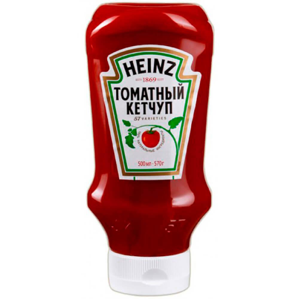 Фото - Кетчуп Heinz 570г томатный пл/бут кетчуп томатный heinz чеснок и пряности
