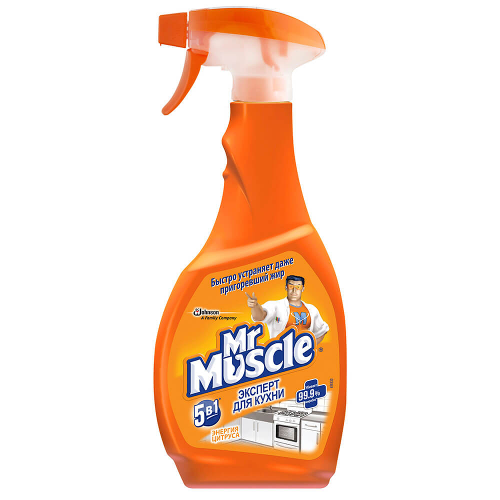 Средство для кухни Mr.Muscle 450мл курок недорого