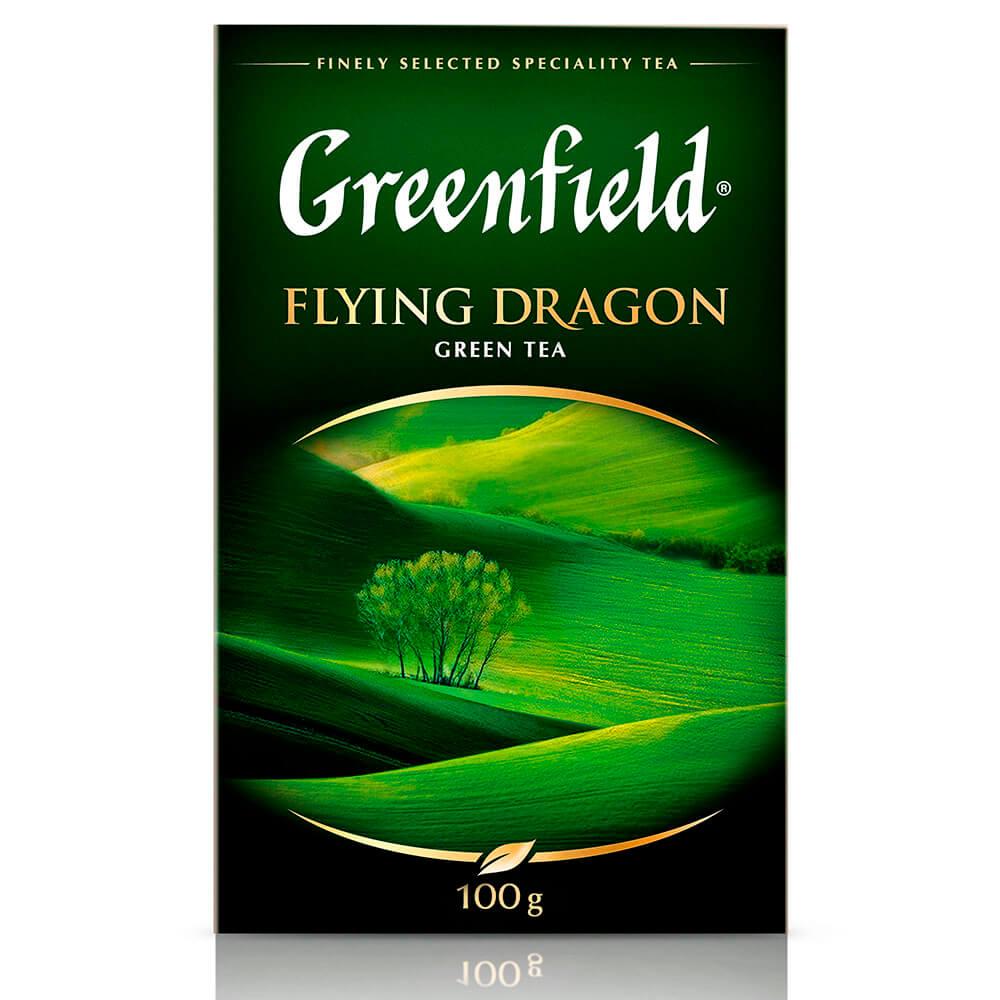 Чай Greenfield 100г флаинг драгон зеленый