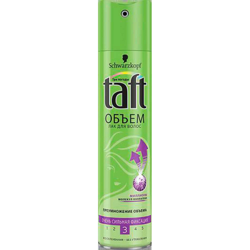 Лак для волос Taft 225мл