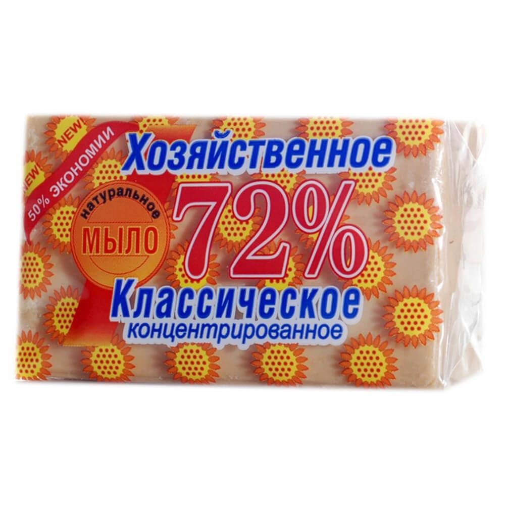 Мыло хозяйственное 150г Аист 72% классическое недорого