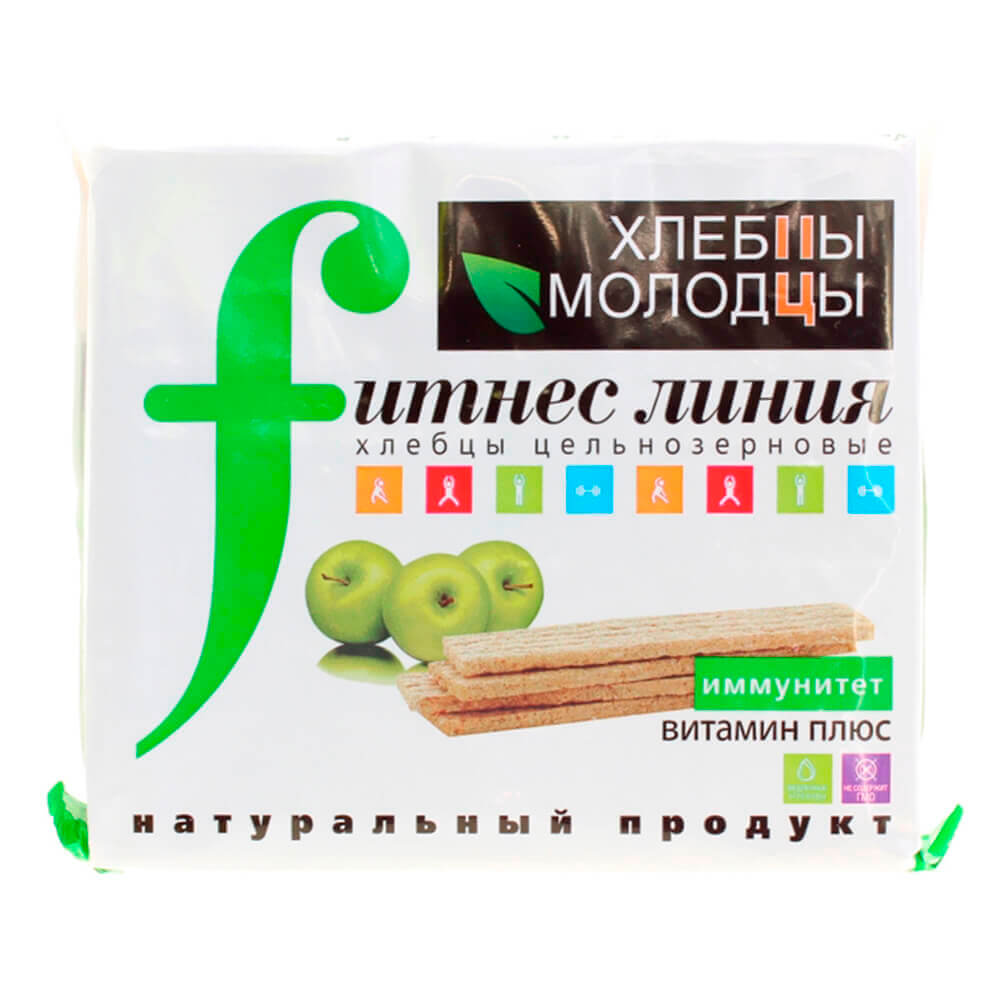 Хлебцы Молодцы Fitness 100г Витамин Плюс