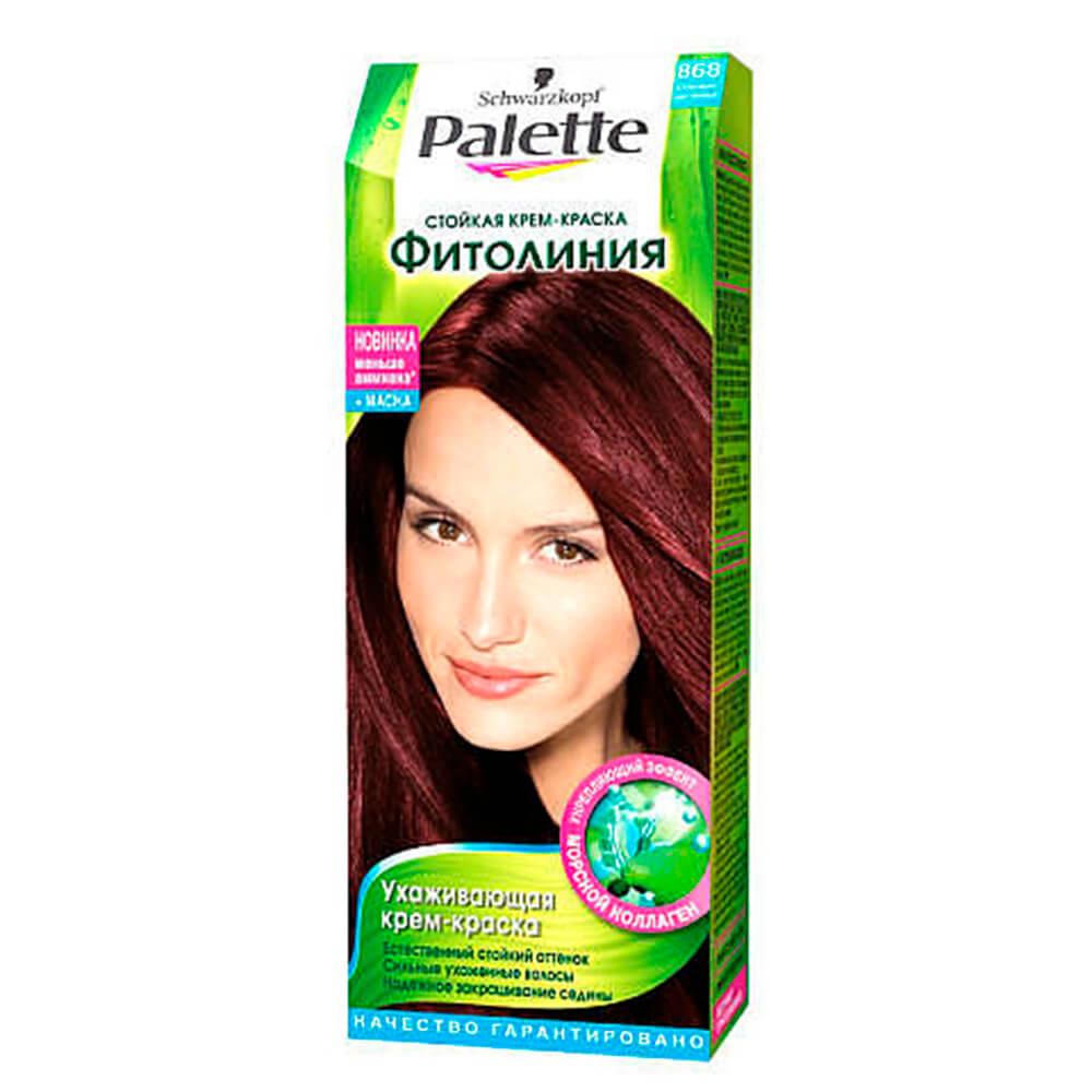 Фото - Краска для волос Palette фитолиния 868 шоколадно-каштановый palette фитолиния стойкая крем краска для волос 868 3 68 шоколадно каштановый