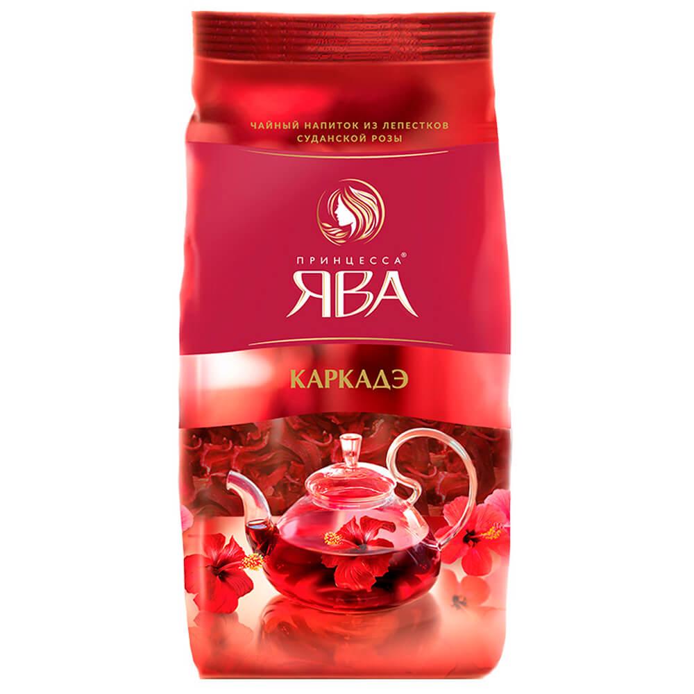 Чай красный Принцесса Ява каркадэ 80г