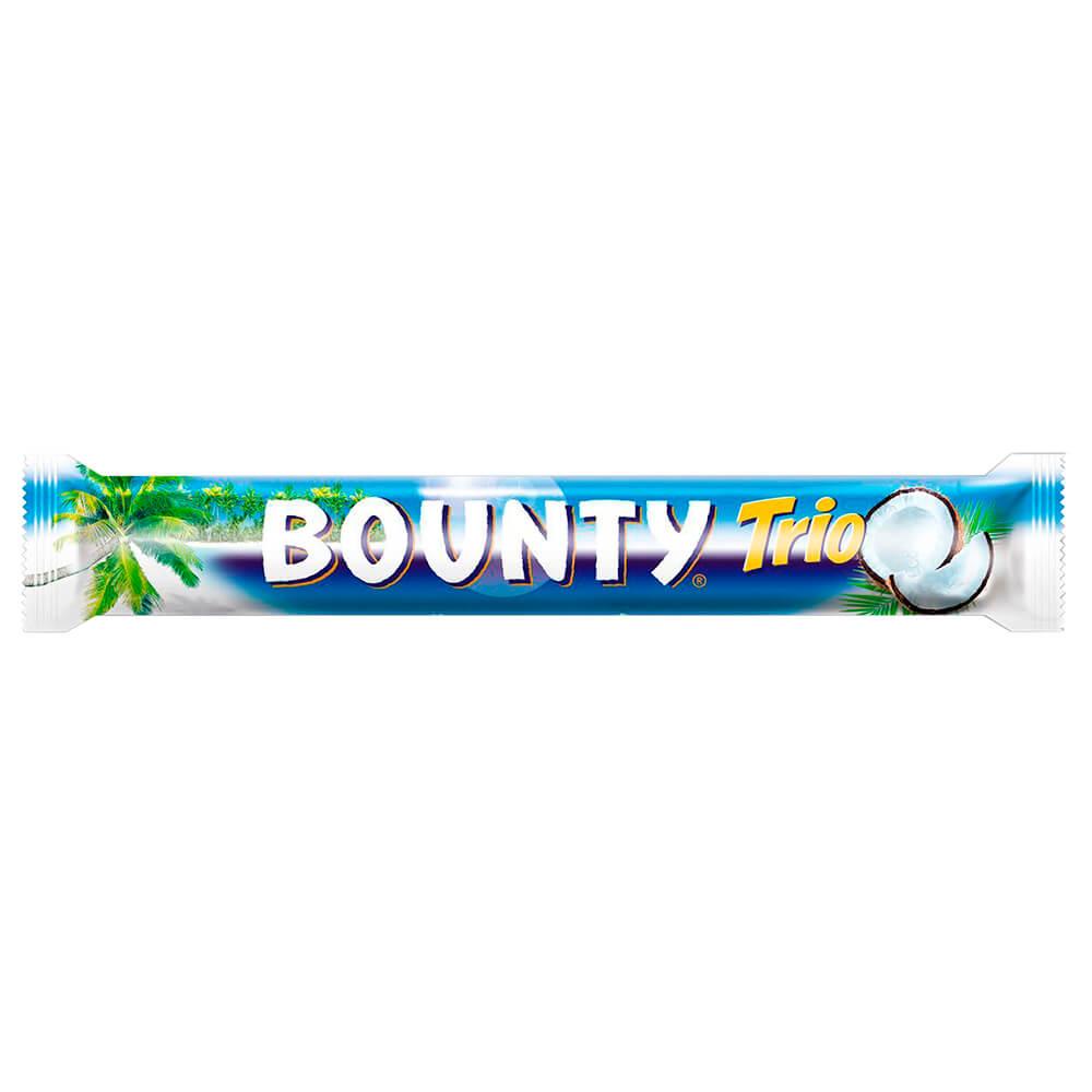 Шоколадный батончик Bounty трио 82,5г Mars