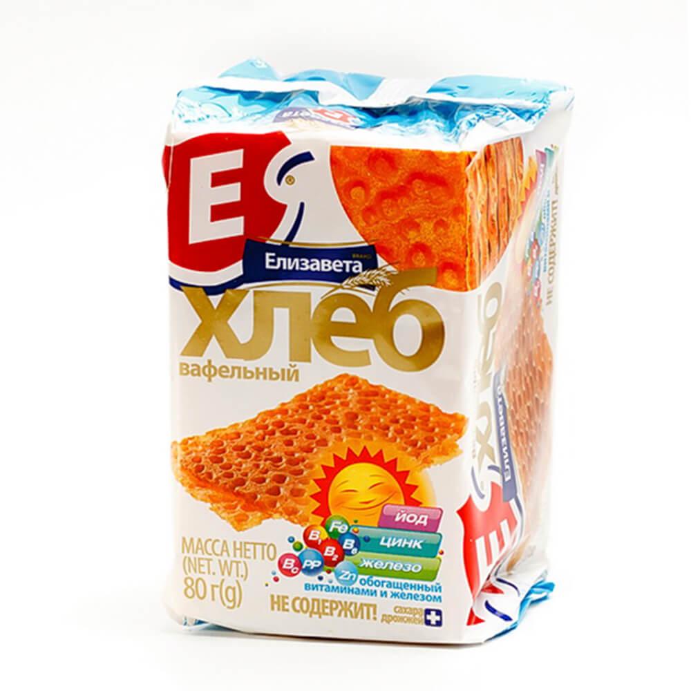 Хлеб вафельный Елизавета 80г с витаминами