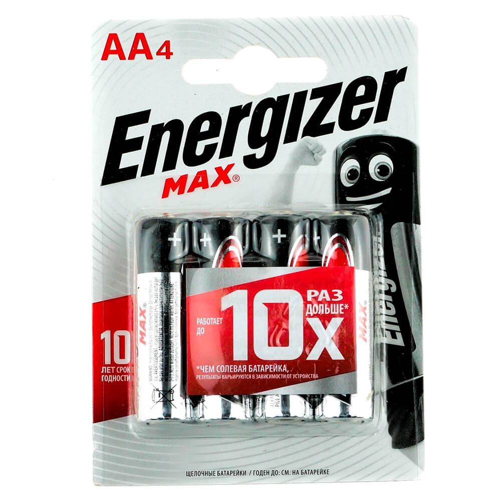 Батарейка Energizer AA 4шт