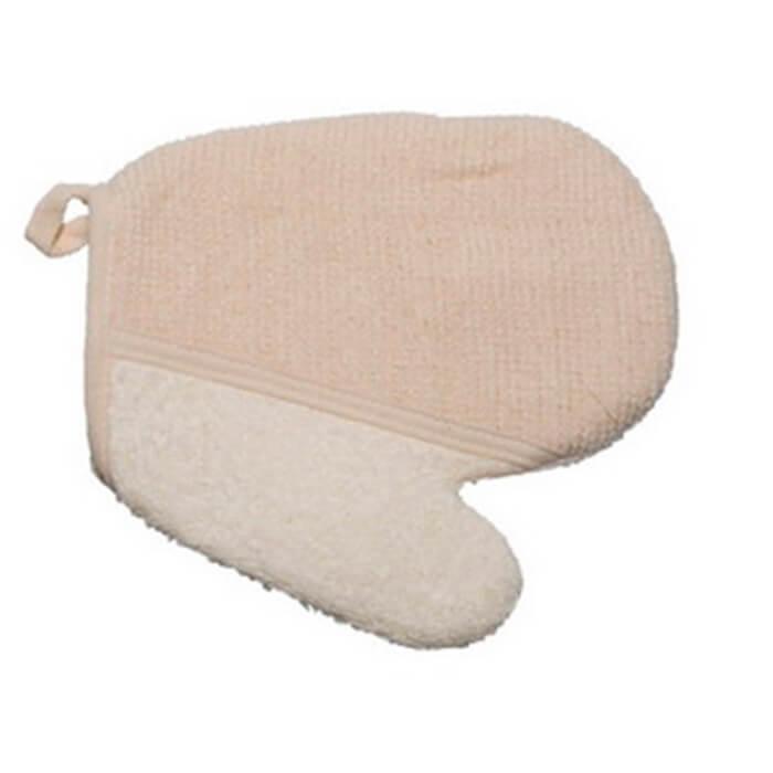Мочалка-рукавица Beauty Style светлая 58706