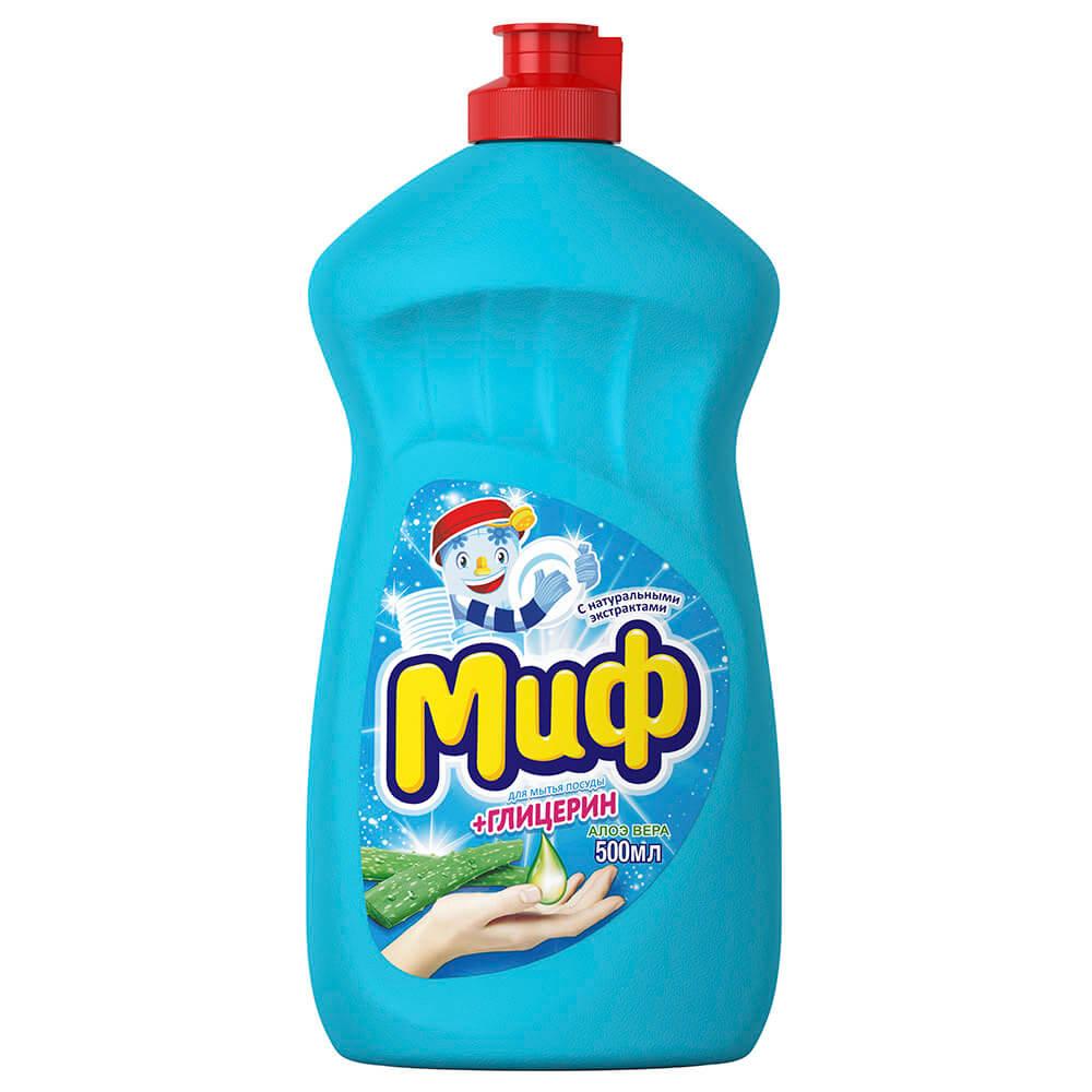 Фото - Средство для мытья посуды Миф 500мл алоэ вера средство для мытья посуды ecosoda 1л бальзам быстросмываемый