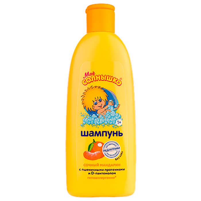 Шампунь Мое солнышко 200мл сочный мандарин