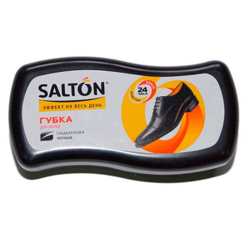 Фото - Губка волна для обуви Salton для гладкой кожи черный губка для обуви salton волна черная для гладкой кожи с норковым маслом