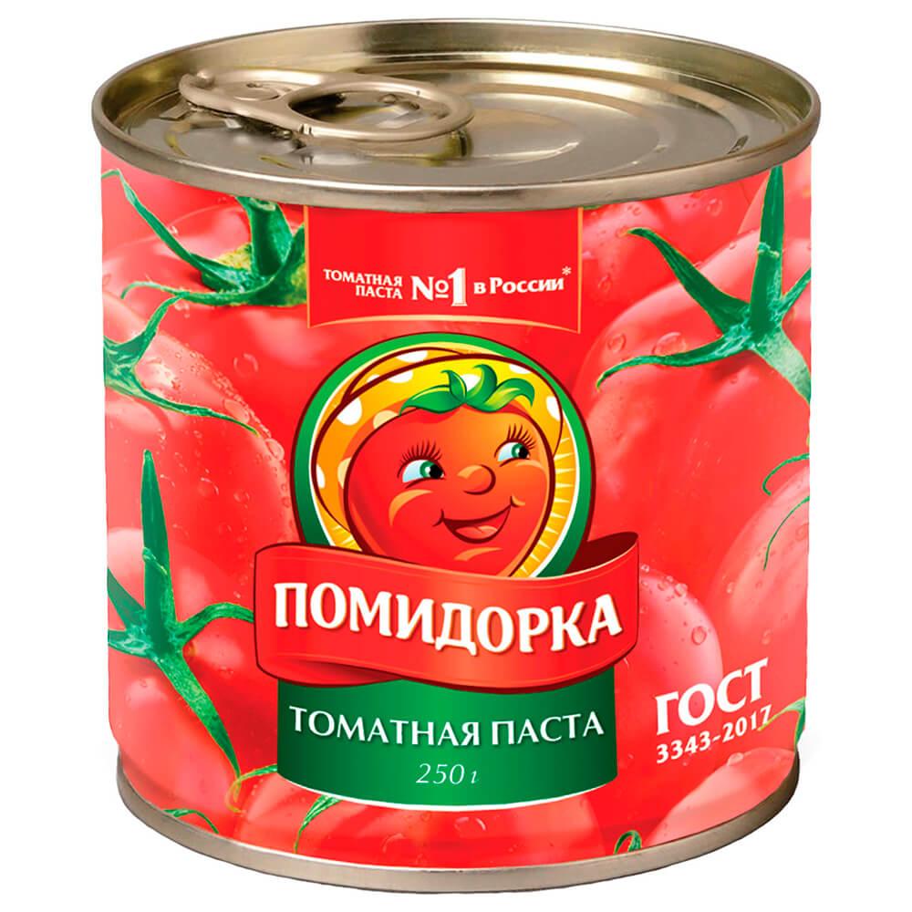Паста томатная Помидорка 250г ж/б