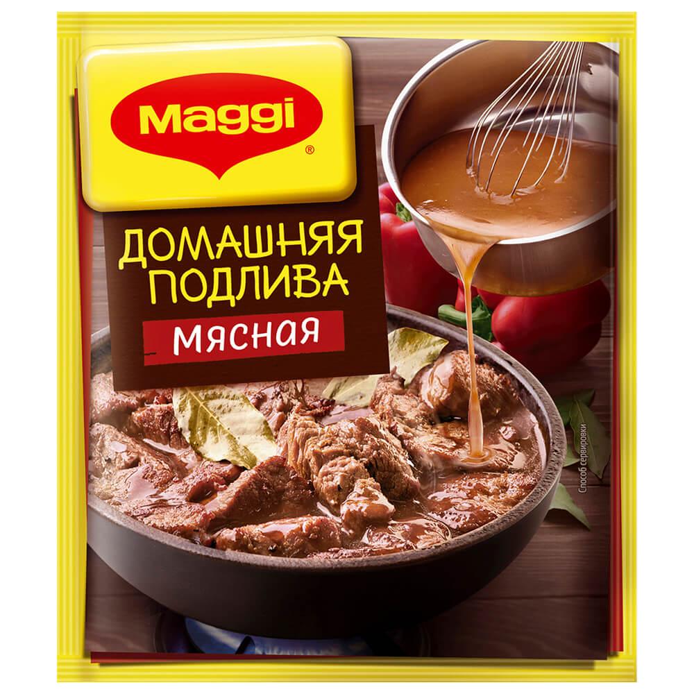 Maggi подлива 90г домашняя мясная