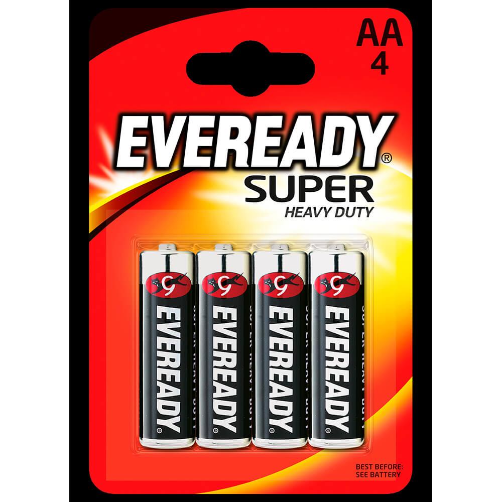 Батарейка Eveready AA супер 4шт