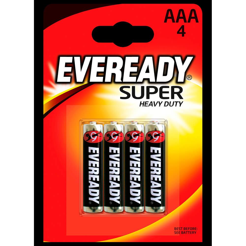 Батарейка Eveready aaа супер 4шт