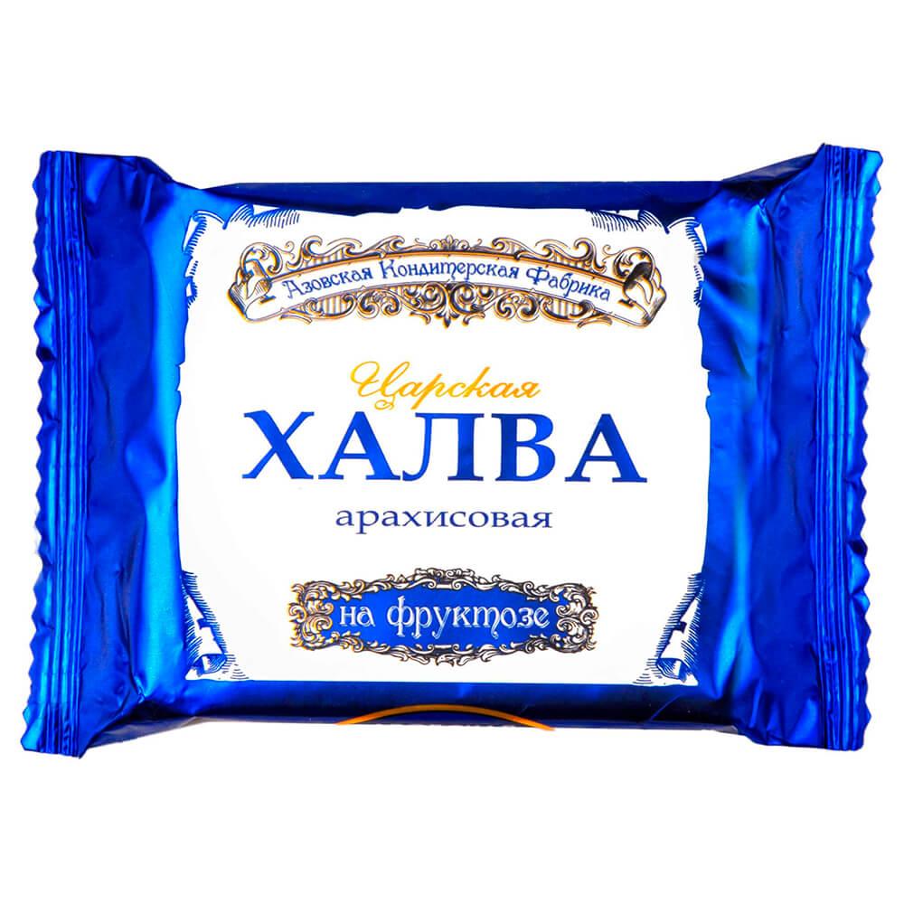Халва арахисовая царская 180г на фруктозе азовская кф