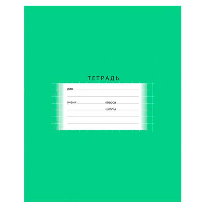 Тетрадь 18л клетка БиДжи отличная зеленый т5ск18 2746