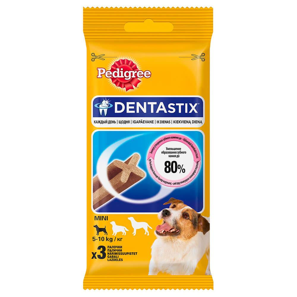 Фото - Лакомство для собак Pedigree Denta Stix 45г pedigree pedigree ranchos лакомство для собак с говядиной 58 г