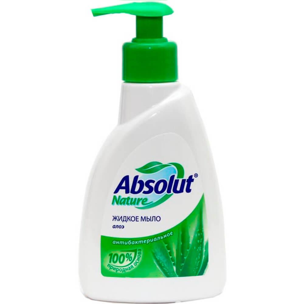 Жидкое мыло Absolut 500г антибактериальное алоэ недорого