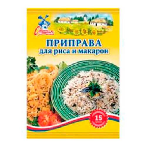 Приправа Старая Мельня 15г для макарон и риса