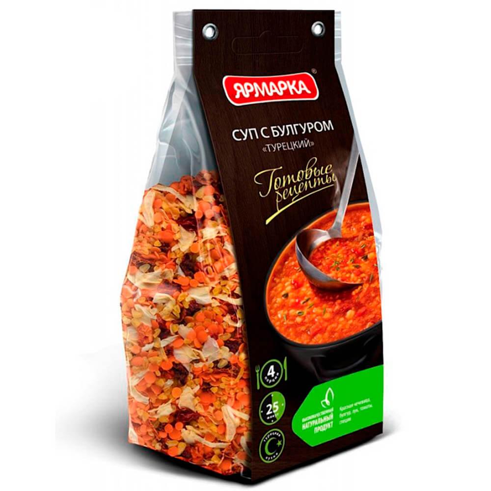 Суп турецкий Готовые рецепты с булгуром Ярмарка 250г
