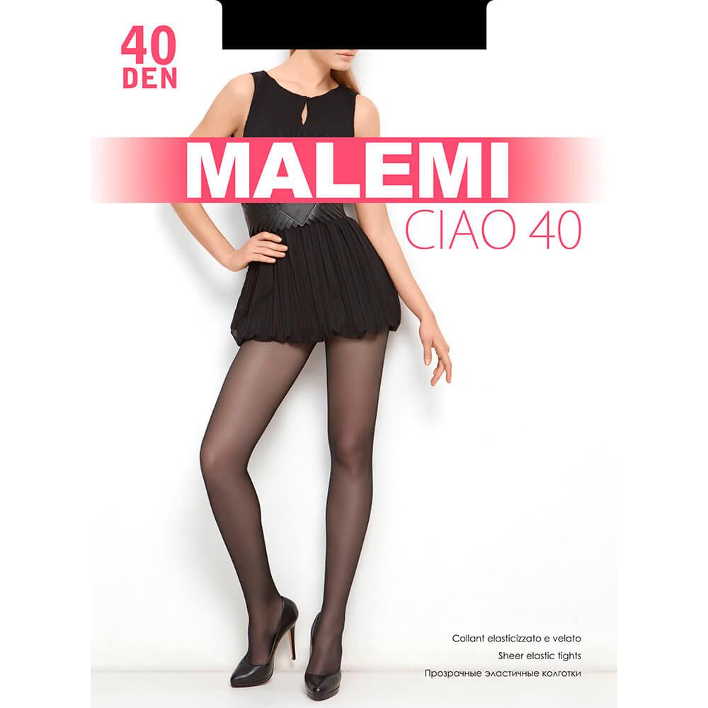 Колготки Malemi чао 40 ден неро р.2