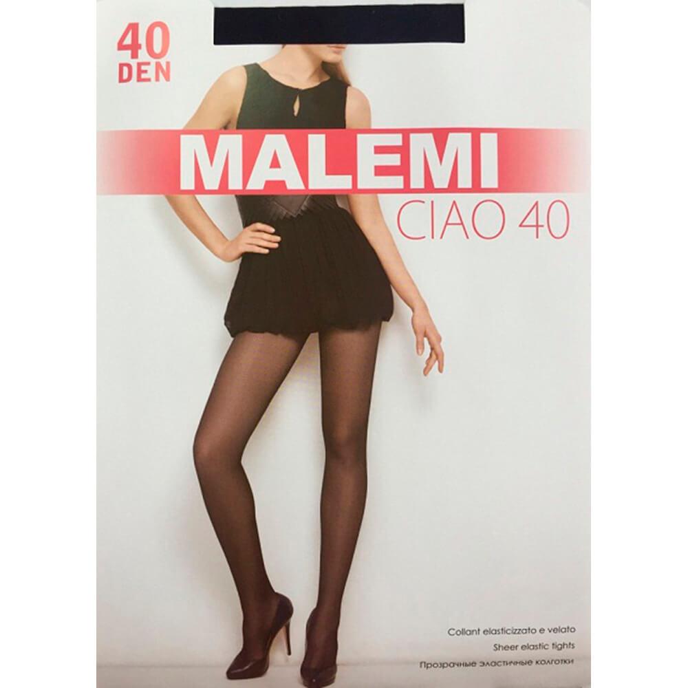 Колготки Malemi чао 40 ден неро р.4