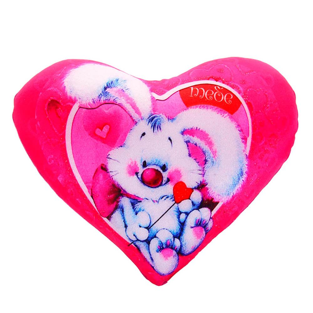 Подушка-антистресс сердце 26см