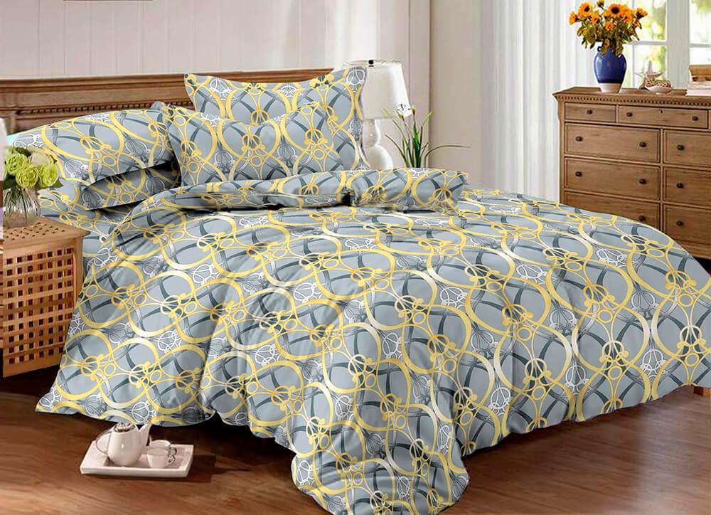 con amore Комплект постельного белья макосатин печатный Amore Mio евро 9183