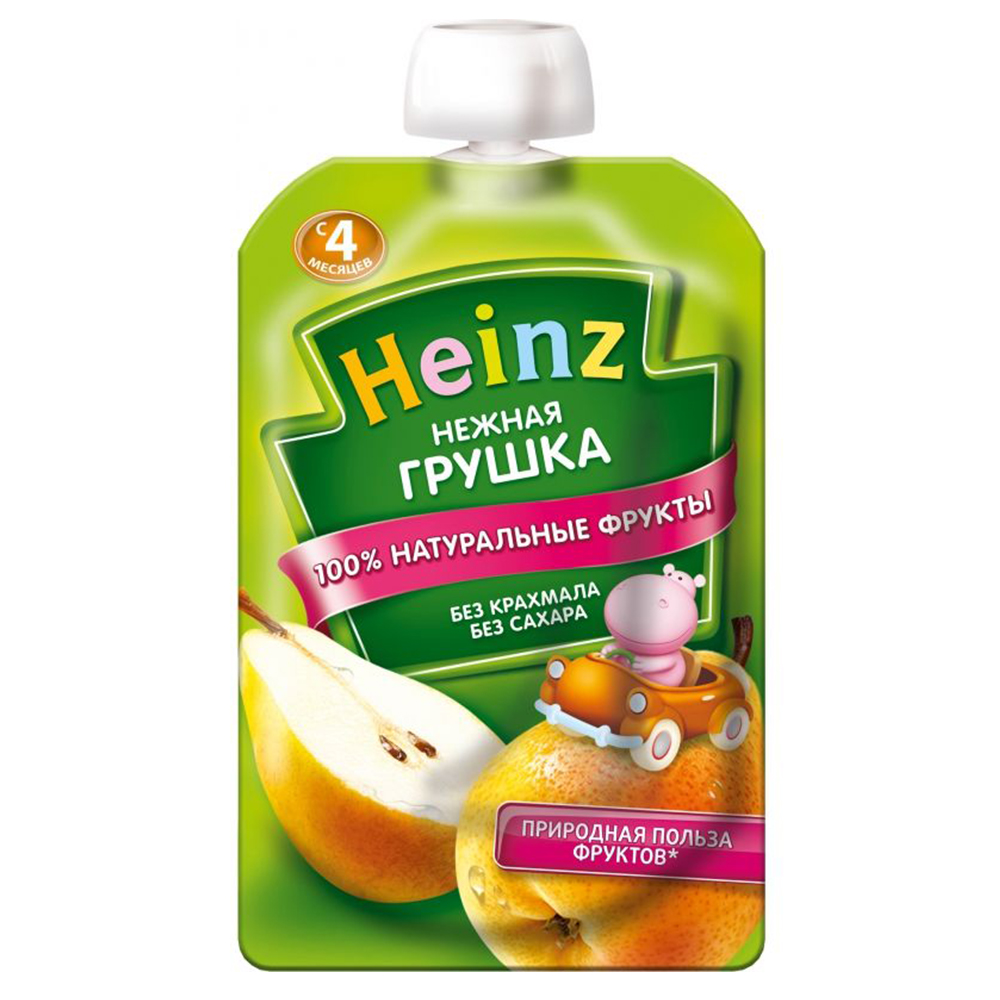 Пюре Heinz Нежная грушка с 4 мес.