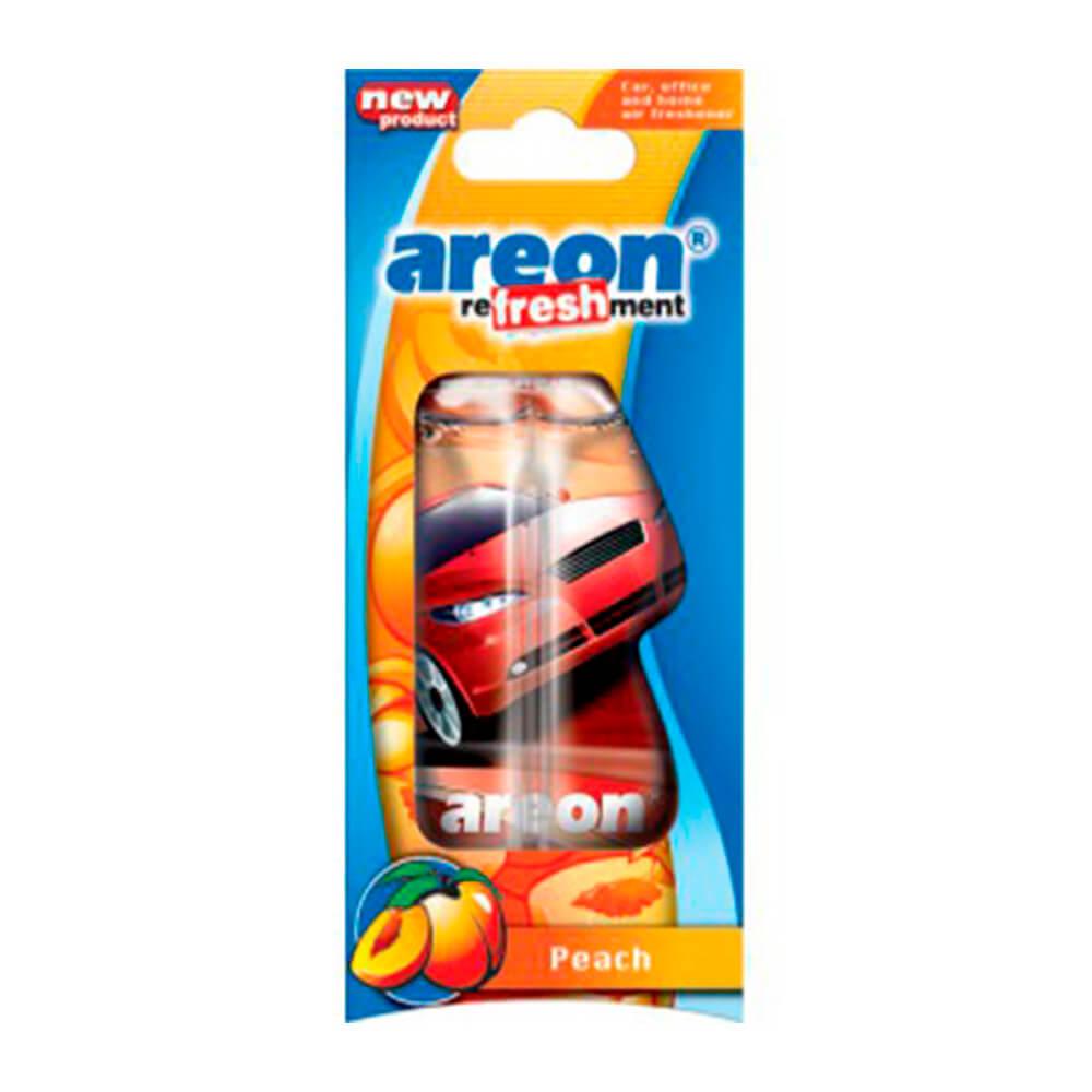 Ароматизатор автомобильный гелевый AREON персик pf-12