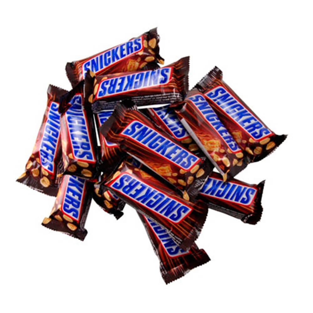 Шоколадные батончики сникерс minis Mars