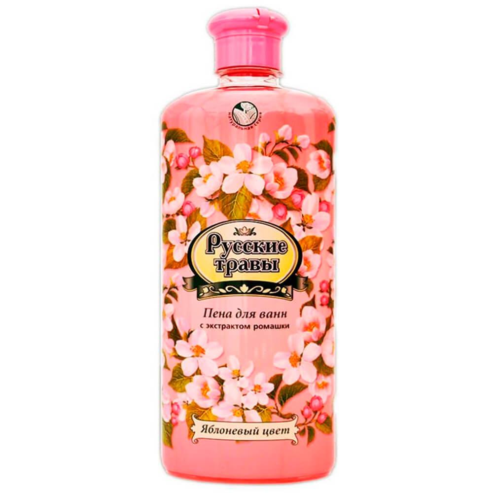Пена для ванн Русские травы 500мл яблоневый цвет