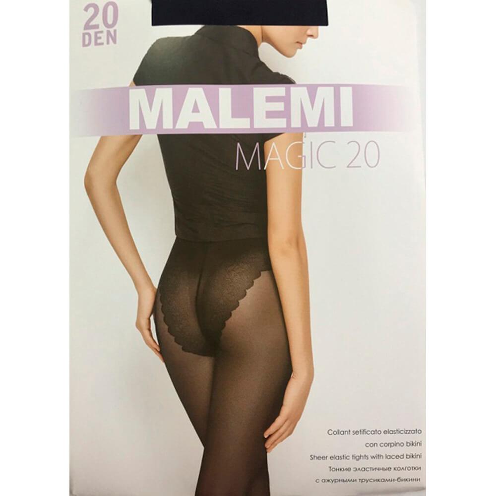 Колготки Malemi Magic 20 ден неро р.2