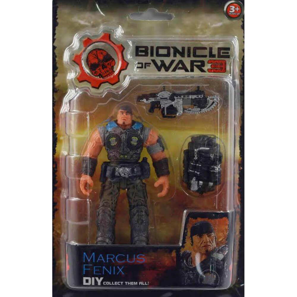 Фигурка Play Line солдат бионикл в ассортименте на блистере bw125102