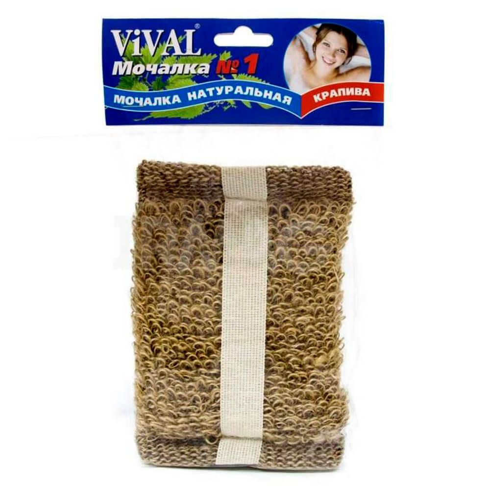 Мочалка Vival крапива брикет к102