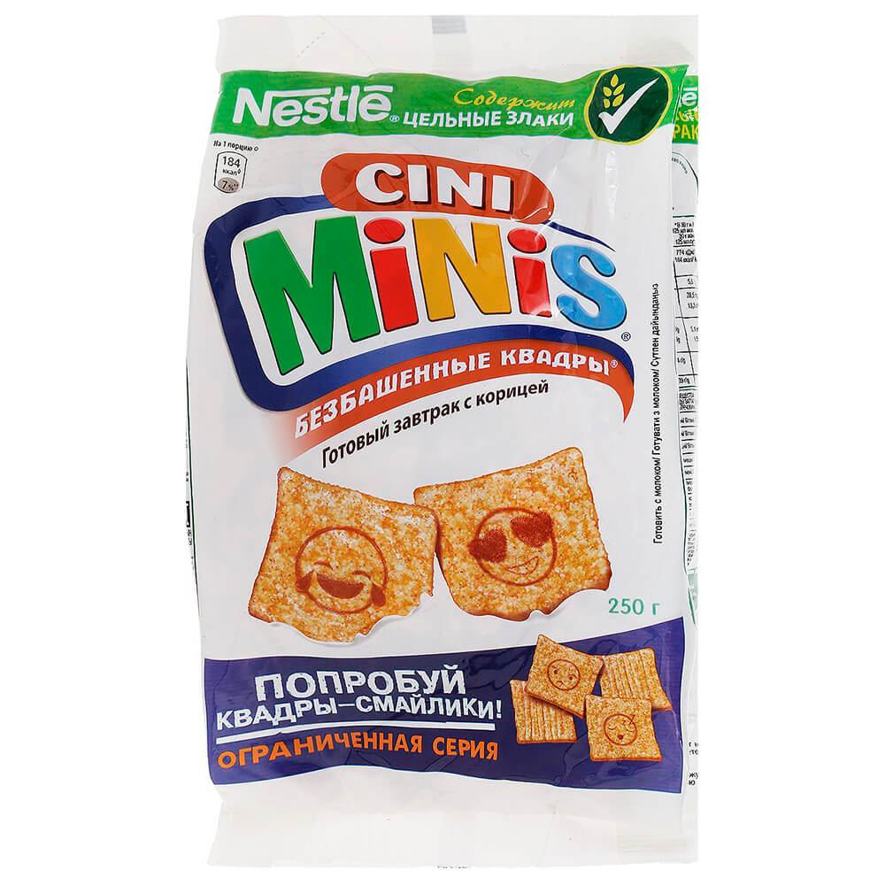 Готовый завтрак Cini Minis 250г пакет Nestle недорого