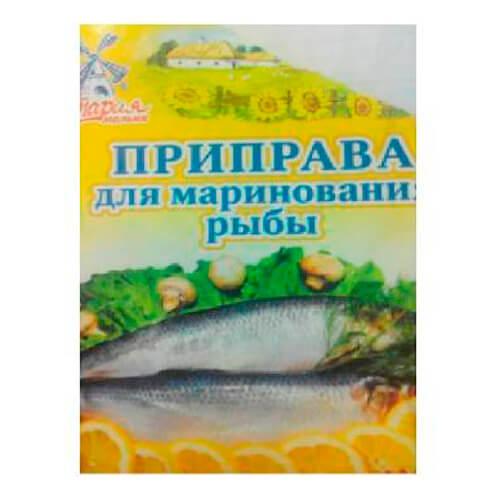 Приправа Старая Мельня 15г для маринования рыбы