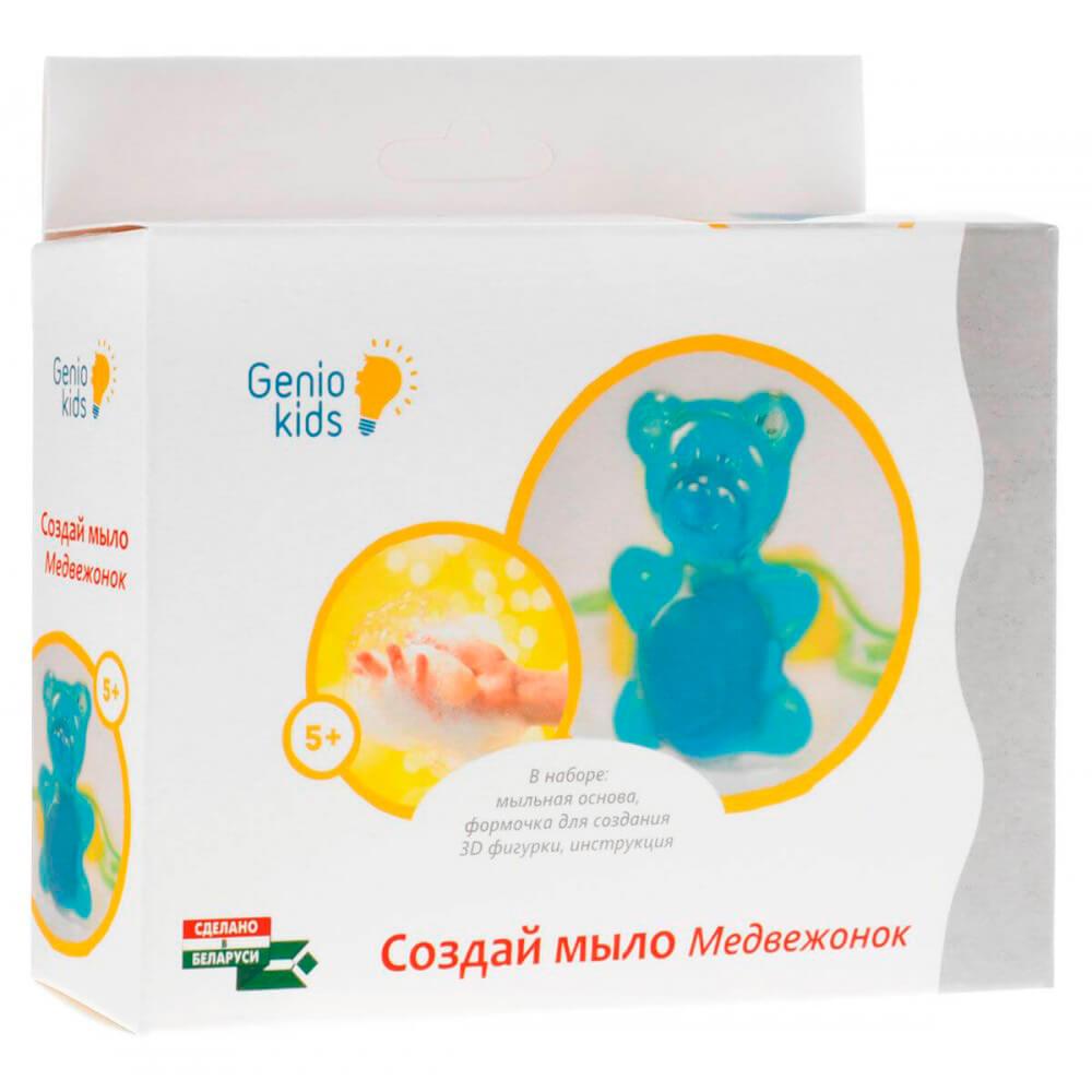 Набор для творчества Genio кидс фабрика мыловарения медвежонок та1102 недорого