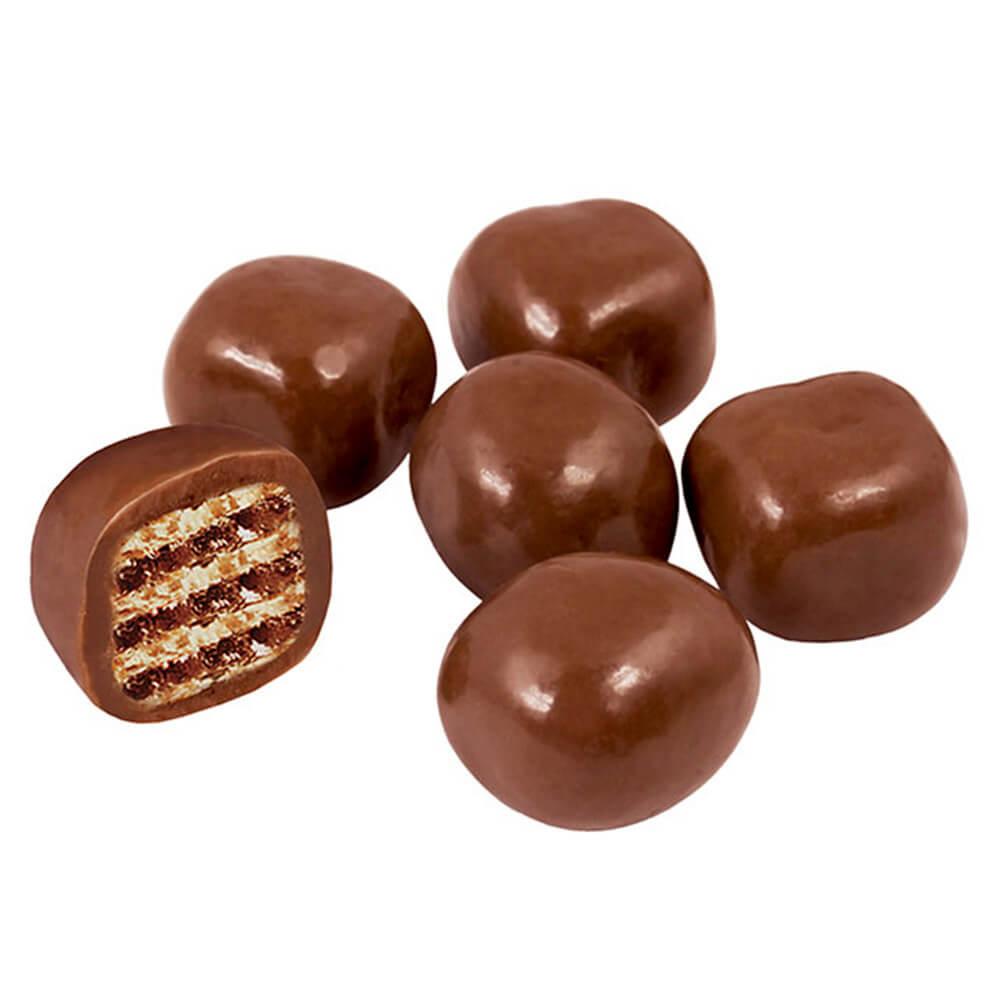 Вафельное драже в шоколадной глазури КДВ