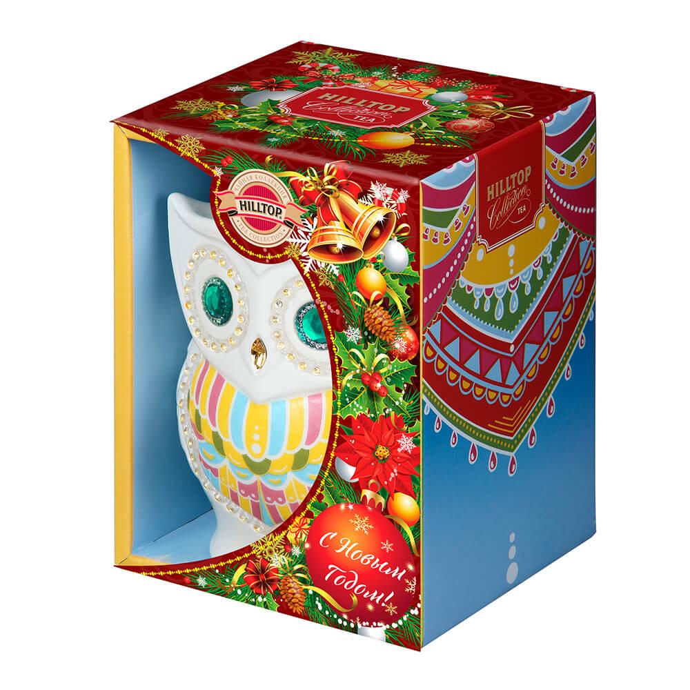 Чай Hilltop 50г сова керамика чай hilltop коллекция 50г черный слон керамика