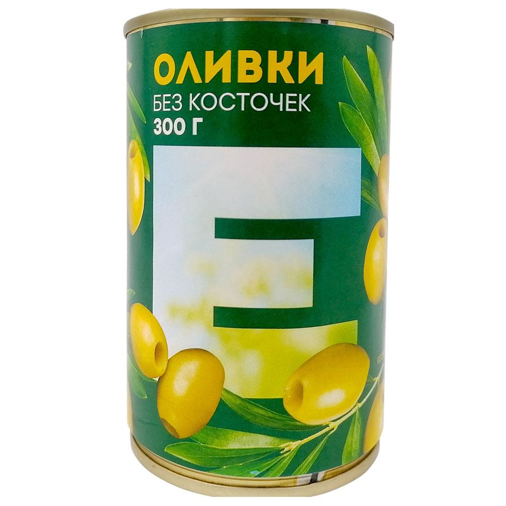 Оливки Европа без косточек 300г