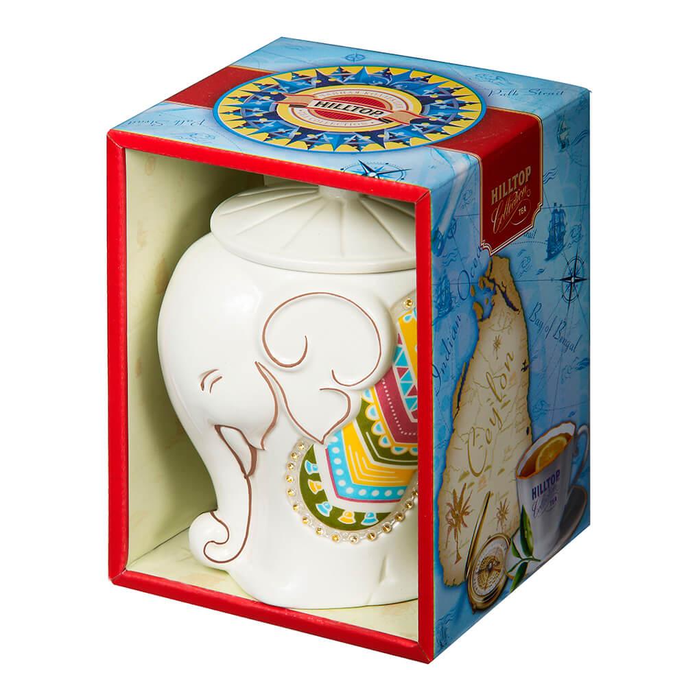Чай Hilltop коллекция 50г черный слон керамика чай hilltop коллекция 50г черный слон керамика