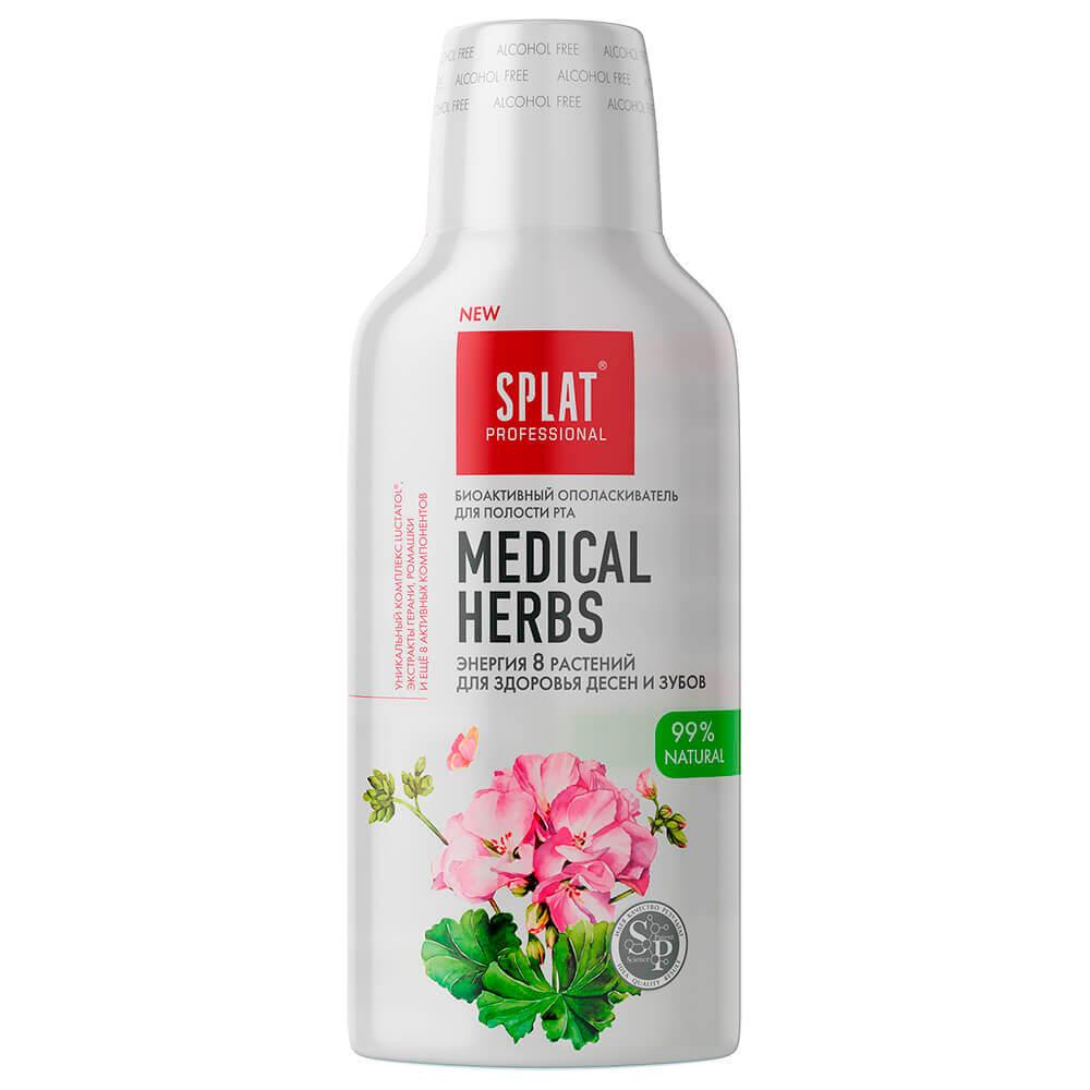 Ополаскиватель для полости рта SPLAT 275мл лечебные травы